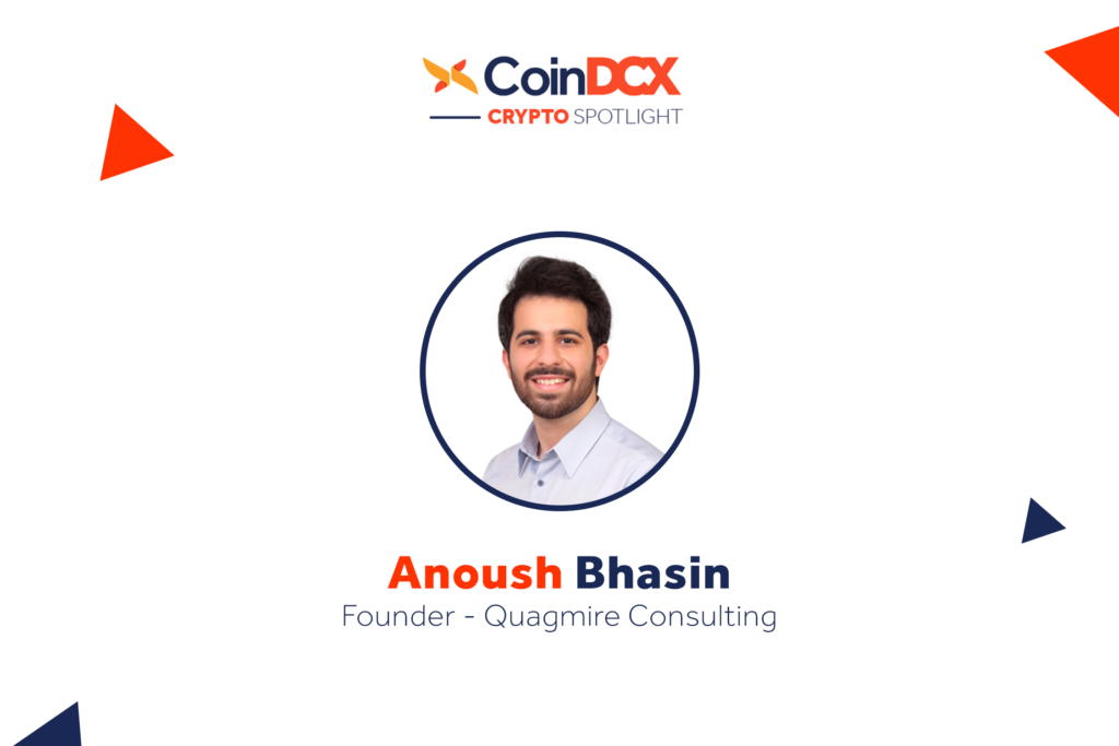 Interview with Anoush Bhasin