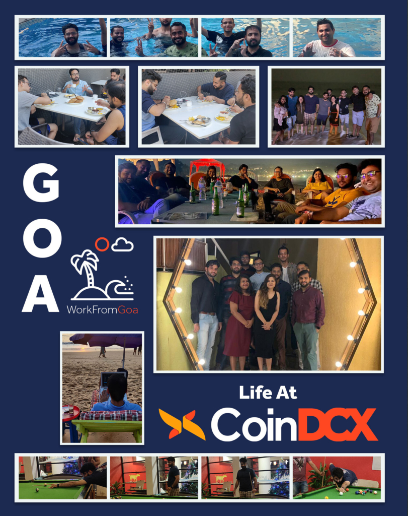 CoinDCX moments in Goa